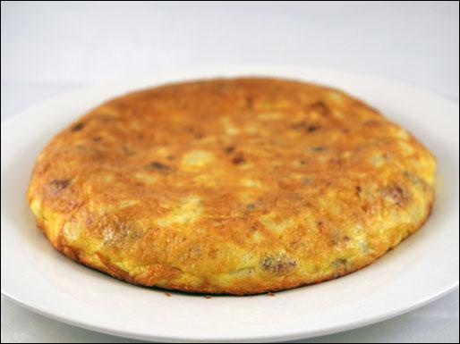 Vegetarian Potato Omlette Recipe