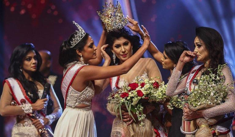 Shocking Drama at Beauty Pageant in Sri Lanka!