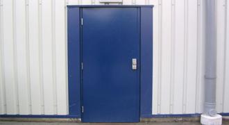 Single Hollow Metal Door Brush Seals Memtech Brush