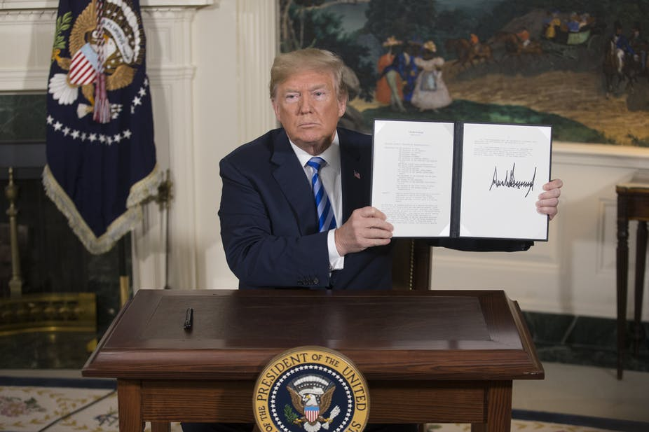 Out of Iran nuclear deal: now what?