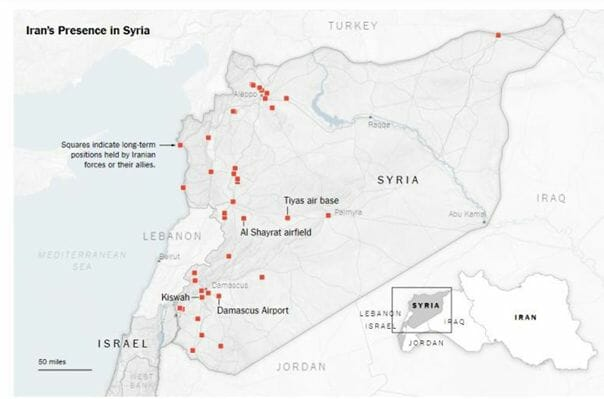 Syrien Karte Aktuell 2018.Schweigen über Israels Bedrohung Durch Iran Sagt Viel über Europa