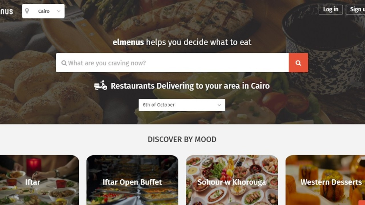 Egypt's food discovery platform Elmenus has raised $1 5