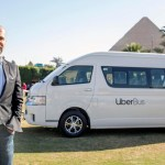 Uber launches a minibus service 'Uber Bus' in Cairo