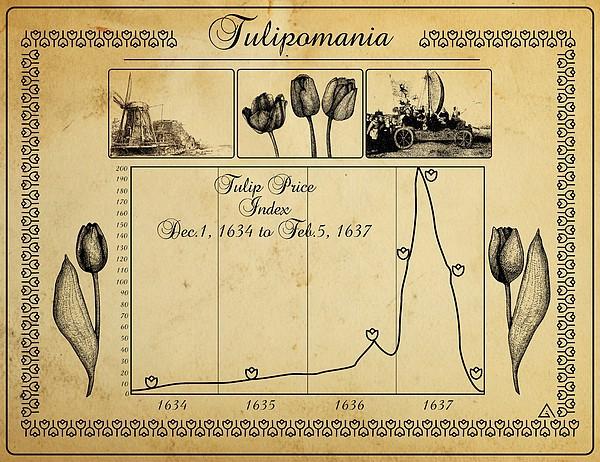 Tulip Price Index during the Tulip Mania