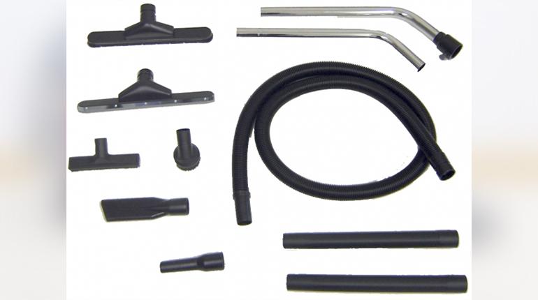 Les accessoires de l'aspirateur