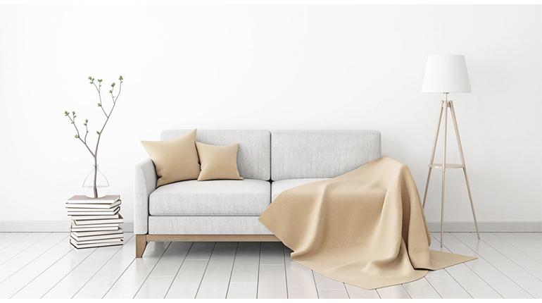 Dépoussiérer Les Canapés Revêtement Tissu