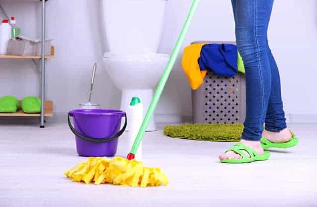 WHY MENAGE TOTAL BATHROOMCLEANING SERVICES  CLEANING
