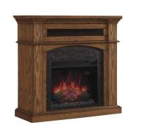 "42"" Oakwood Dual Mantel in Premium Oak at Menards"