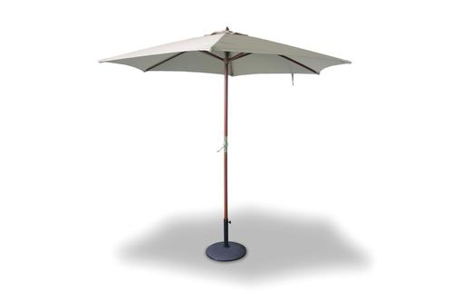 9 Wood Market Umbrella at Menards
