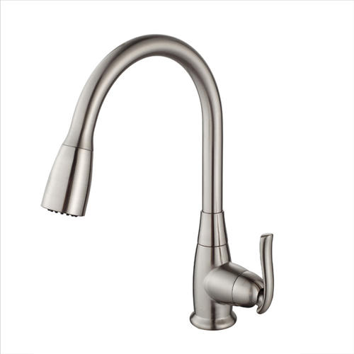 Kraus Single Lever Pull Out Kitchen Faucet Menards
