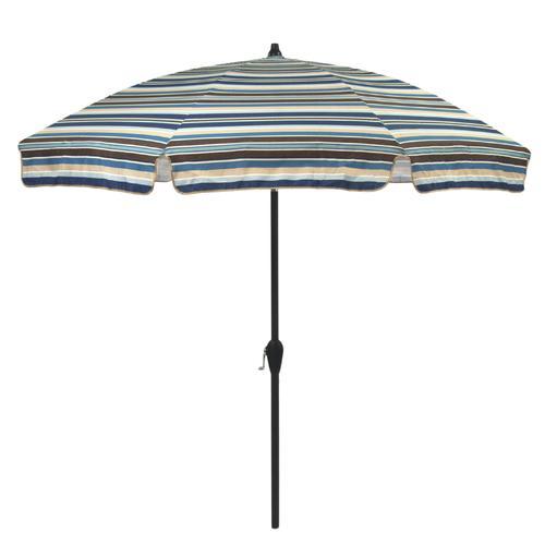 Backyard Creations 75 Easton Stripe Umbrella at Menards