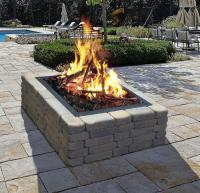 "Backyard Creations 36"" Square Fire Ring at Menards"