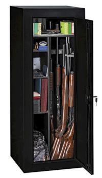 Sentinel 18-Gun Black Convertible Steel Security Cabinet ...
