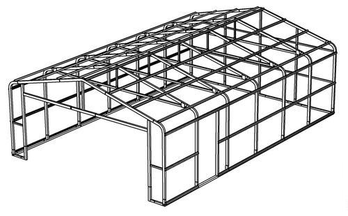 20'W x 30'L x 8'H Garage Frame at Menards®