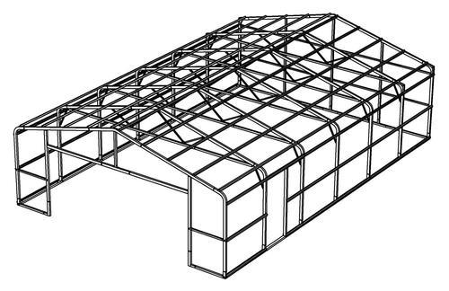24'W x 36'L x 8'H Garage Frame at Menards®