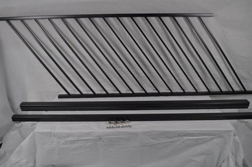 Preassembled Powder Coated Aluminum Stair Panel 36 X 69 | Menards Interior Stair Railing