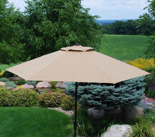 Backyard Creations Belvedere Umbrella at Menards