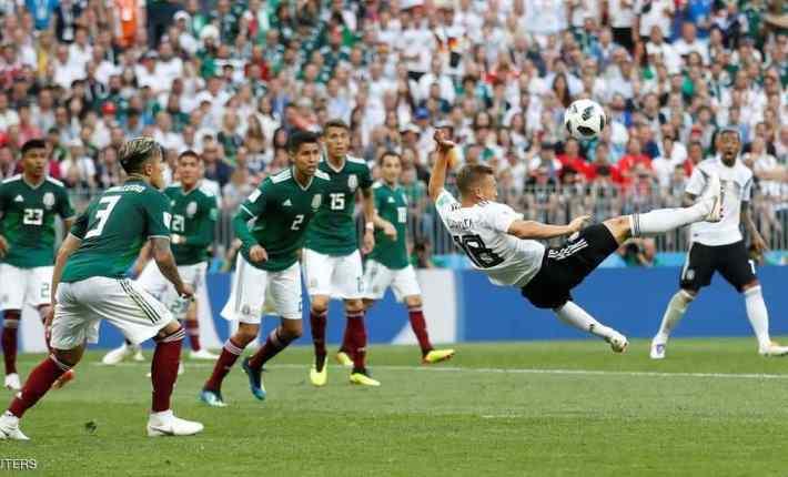 ألمانيا تبدأ حملة الدفاع عن اللقب بالسقوط أمام المكسيك