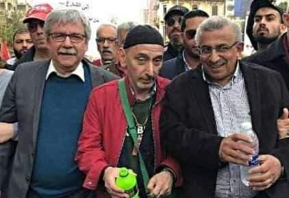بقعة الضوء في تظاهرة الشيوعي اللبناني – سمير دياب