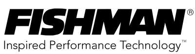 Fishman music products logo.