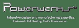 Powerwerks music products logo.