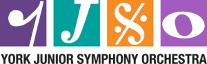 York Junior Symphony Orchestra logo.