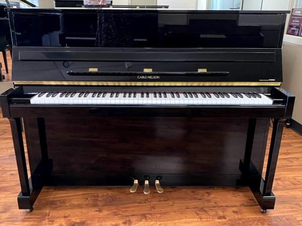 Cable-Nelson – Model CN116 Polished Ebony – 45″ Professional Upright piano