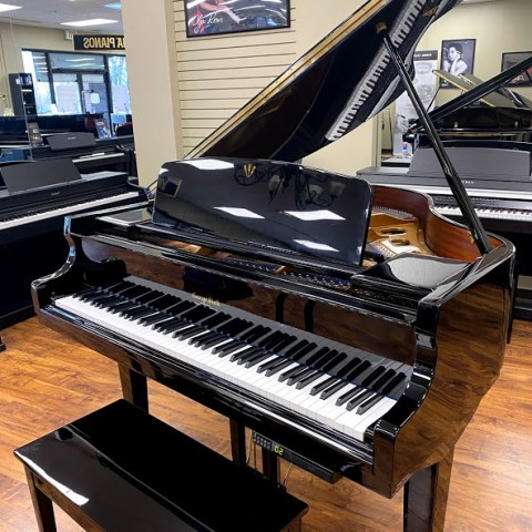 george steck grand piano front view