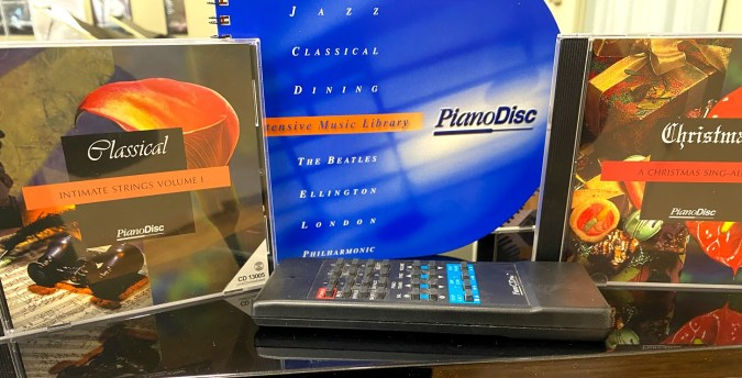 PIano Disc Player accessories