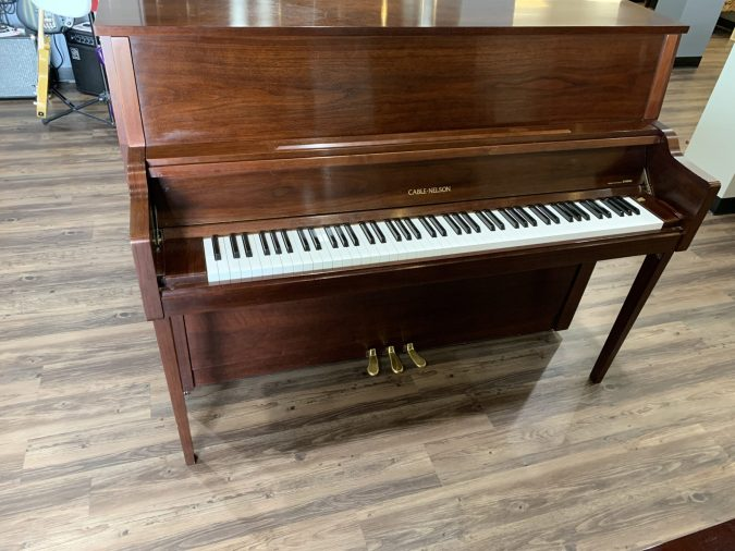 Cable Nelson CN216SW Upright Piano front view