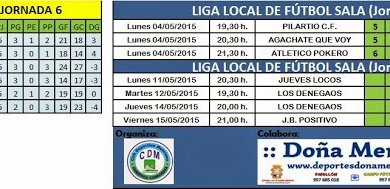 Photo of Liga Local| Resultados, Clasificación y Próxima Jornada.