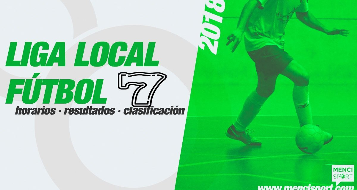 Finaliza la fase regular de la liga local de fútbol-7