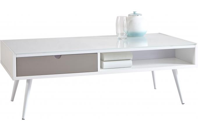 Table Basse Grise Pas Cher table basse relevable extensible giani grise achat vente table basse