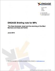 Gaza Blockade and Flotilla Incident (2010)