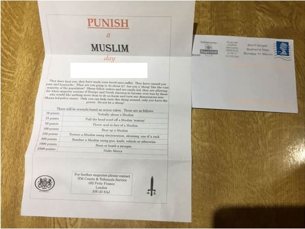 MEND statement on circulation of 'Punish a Muslim day' letter