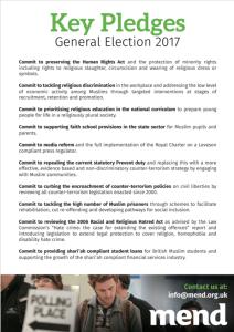 Key Pledges