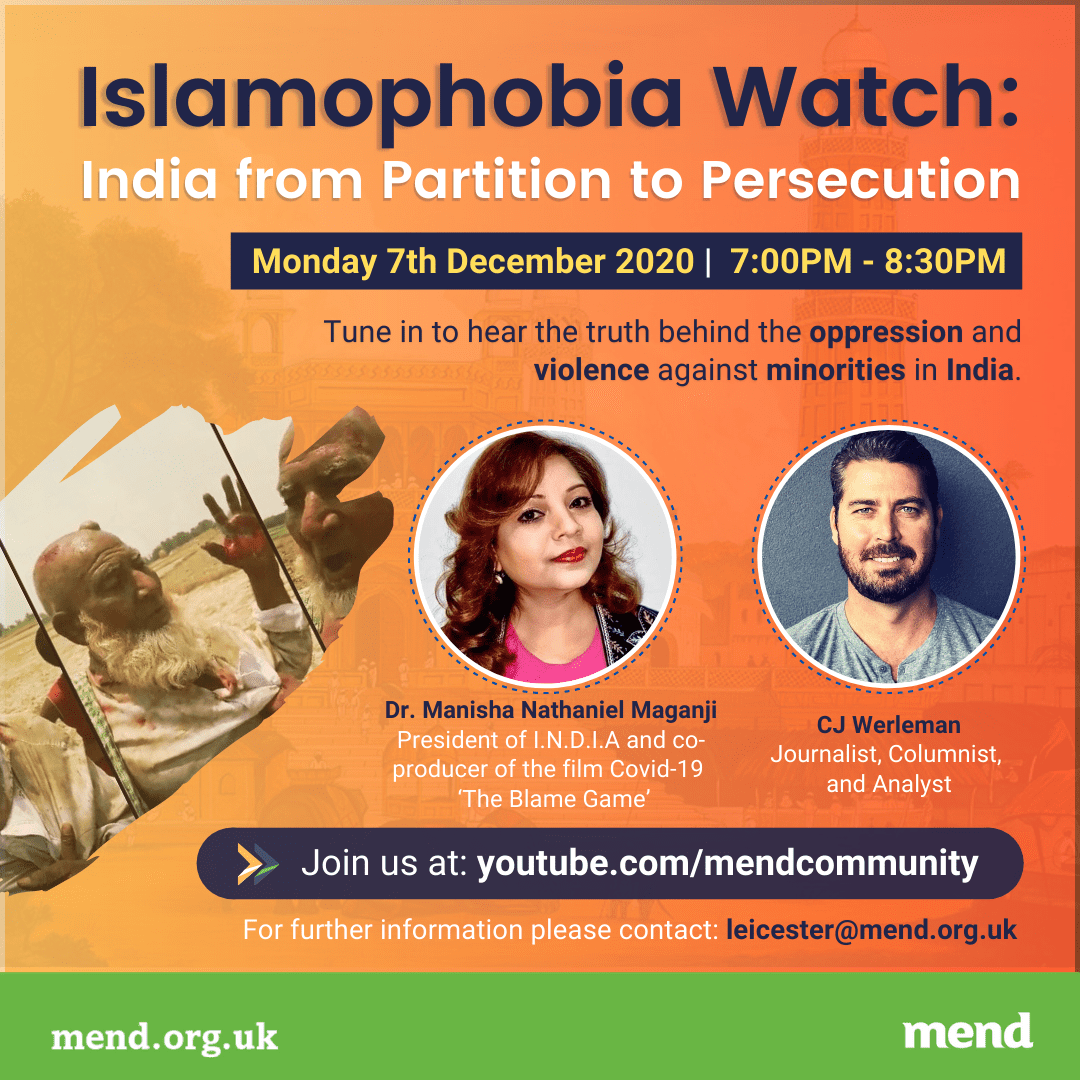 Islamophobia Watch: India From Partition to Persecution