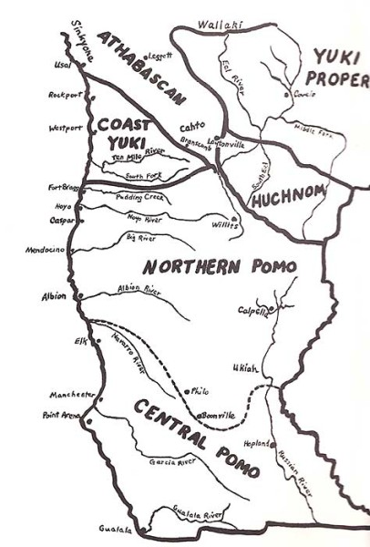 Pomo, the Native Americans of the Mendocino Coast ….. Gone