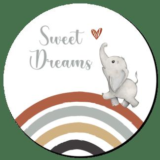 Wandcirkel/Wandsticker Sweet Dreams