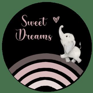Wandcirkel/Wandsticker Sweat dreams (m)