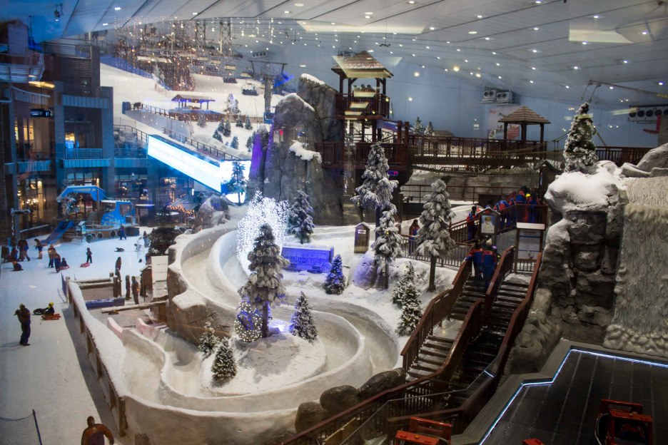mall of the emirates ski park