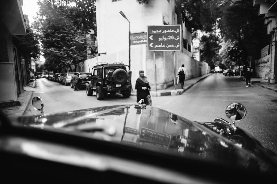 fotografia de casamento egipto a caminho igreja