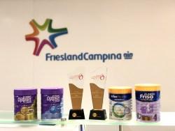 FRISO® and OPTIMEL®, brands of Royal FrieslandCampina N.V., are awarded the Consumer Caring Logo 2018