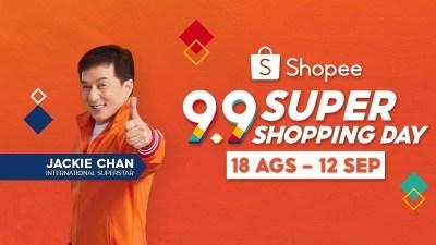 Shopee 9.9 Super Shopping Day Hadirkan Jackie Chan dan Joe Taslim