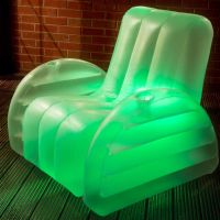 Inflatable LED Chair - Perfect For Gaming, Camping ...