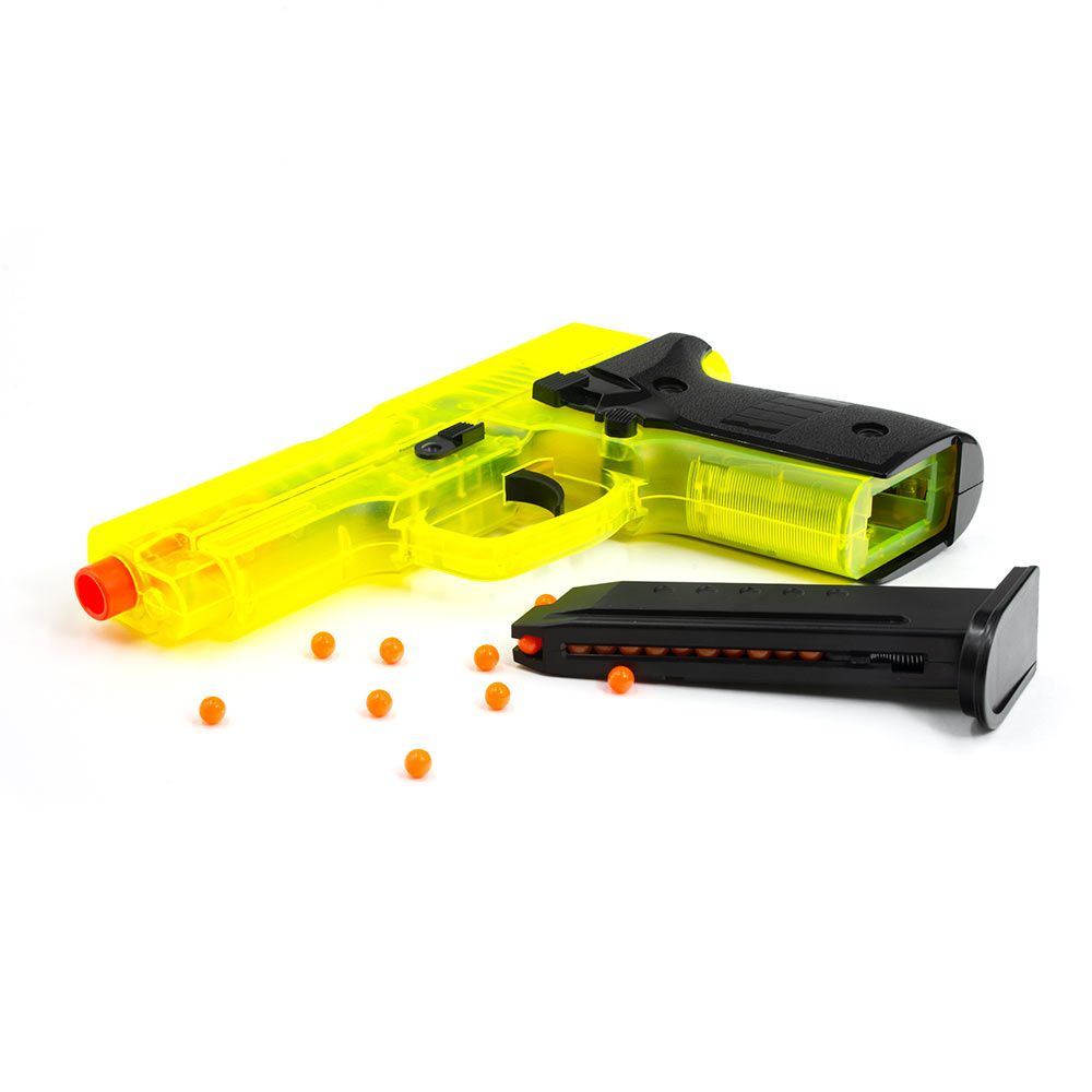 hight resolution of  red5 bb gun showing magazine and bb pellets