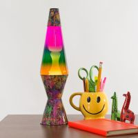 "14.5"" Paintball Tricolour Lava Lamp - Relaxing Mood Light ..."