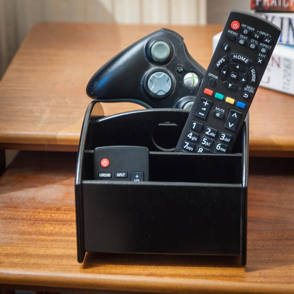Remote Control Caddy  360 Rotational Coffee Table Tidy