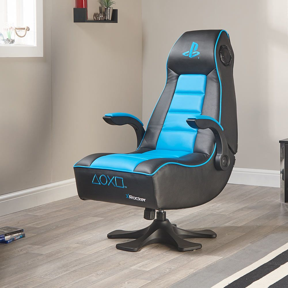 gaming chairs uk karlstad chair cover x rocker infiniti - the ultimate playstation experience | menkind