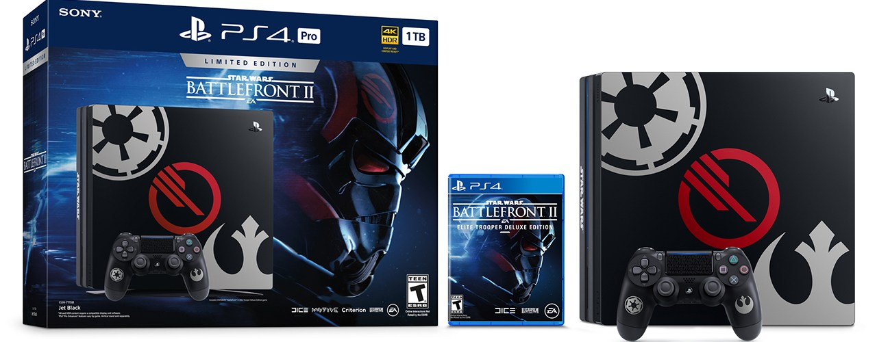 星戰狂熱 《Star Wars Battlefront II》限定版 PS4 登場